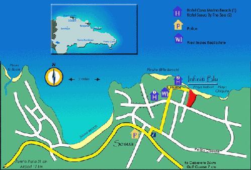 Sosua Map