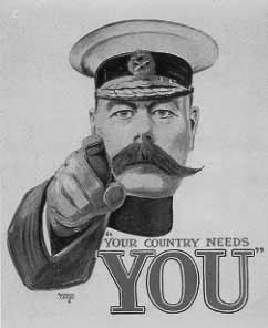 Your country needs you to rescue the economy