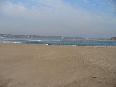 Lagoon seen from Bom Sucesso Beach