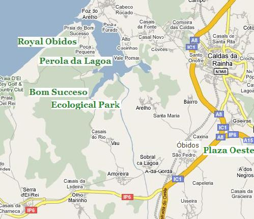 Ecological Park A New Road To Bom Sucesso Portugal Silver - Portugal map obidos